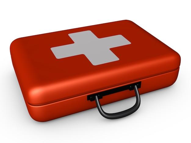 赤いスーツケース