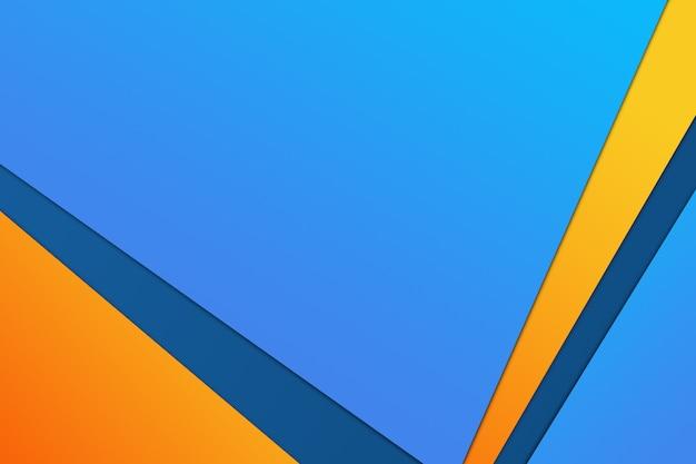 モダンなマテリアルデザイン、カラーペーパー構成、抽象的なバナー、背景。