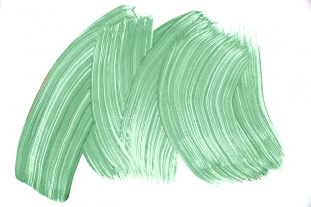 ブラシ実像テクスチャ背景によって作られたトレンディなミント色。