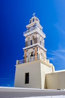 サントリーニ島フィラの教会
