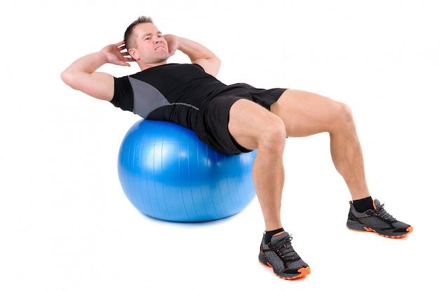 Упражнения для фитнеса брюшного пресса