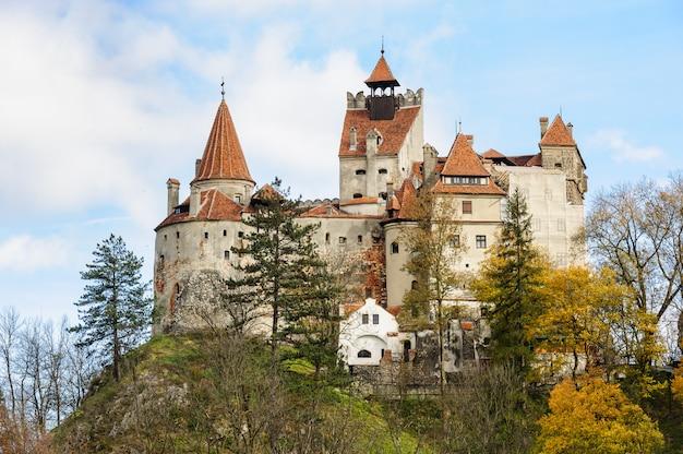 Замок бран, брашов, трансильвания румыния.