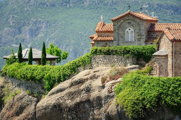 Горный монастырь в метеоры, греция