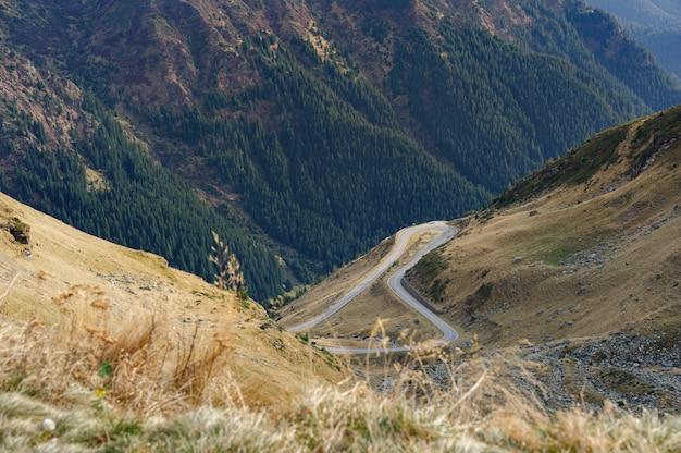 トランスファガラサン山道
