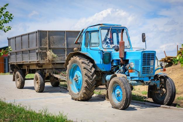 旧トラクター