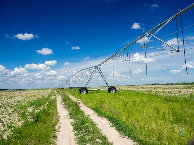 現代の灌漑システム