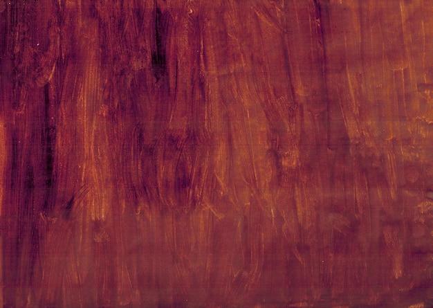 茶色の水彩手描きの背景の縞模様
