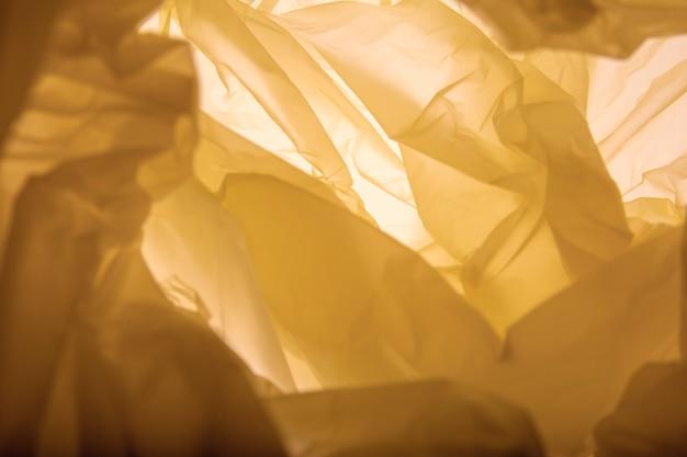 黄色の抽象的なデザインの背景