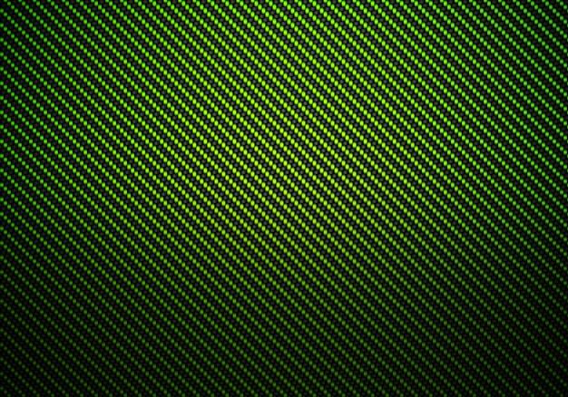 抽象的なグリーンカーボンファイバーの質感のある素材デザイン