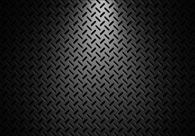 抽象的なモダンなグレーの穴あき金属板のテクスチャ背景