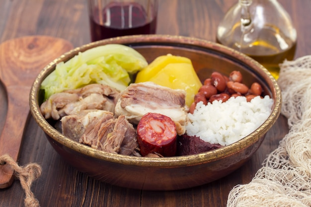 典型的なポルトガル料理
