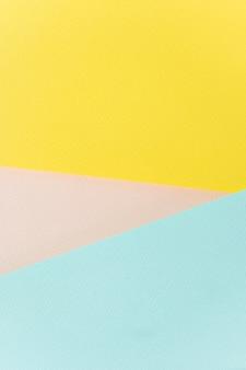 テクスチャ紙黄色、ピンク、青。