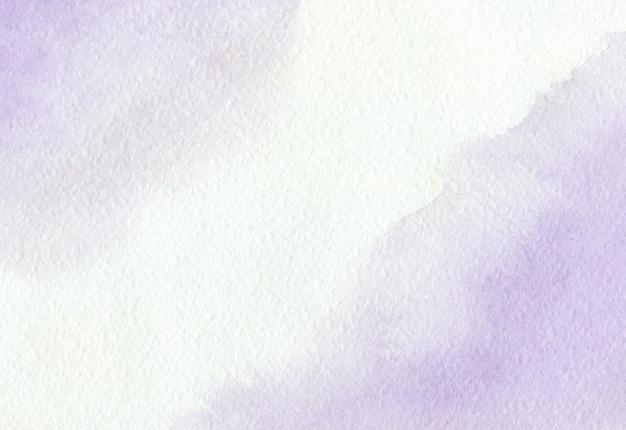背景水彩絵の具の美しい汚れ、バイオレット