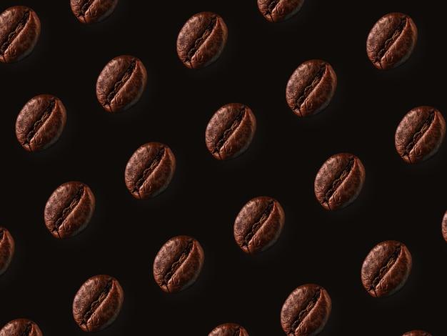 コーヒー豆のパターン