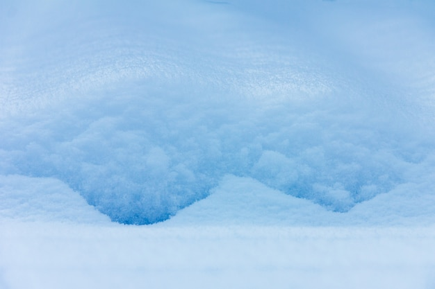 冬背景テクスチャ吹きだまりのクローズアップ