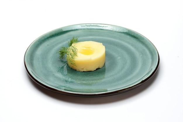 バターとディルとマッシュポテト