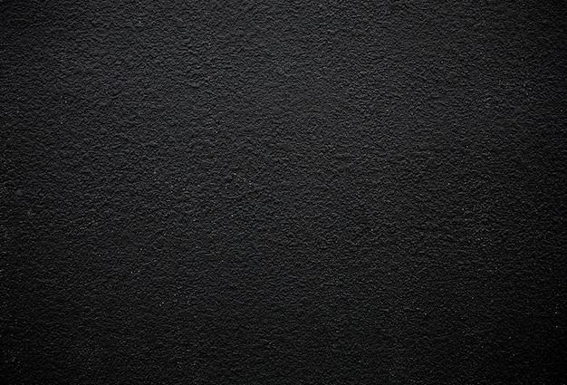 Темно-черная стена гранж текстурированный фон