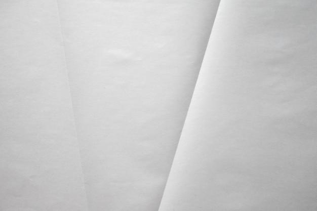 Белый мятую бумагу крупным планом текстуру фона