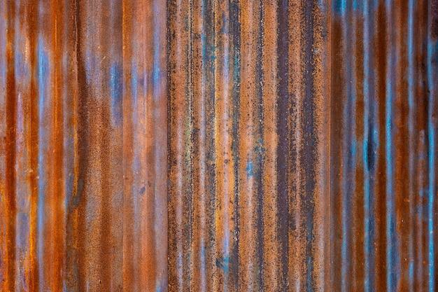 古いさびた亜鉛グランジテクスチャ、背景のヴィンテージ亜鉛テクスチャ
