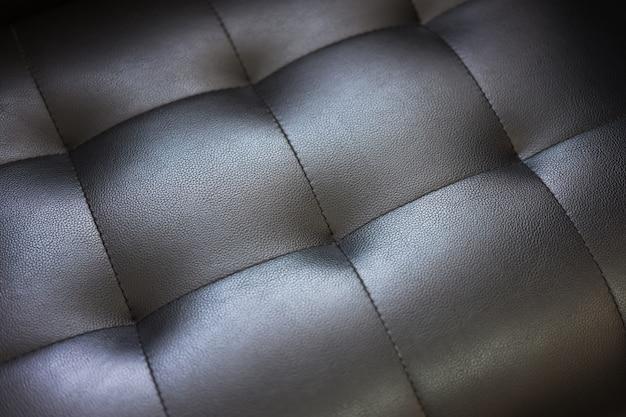 Заделывают текстуры кожаный диван