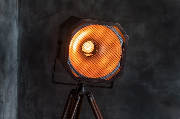 ヴィンテージ光源ランプ、ロフトライト。