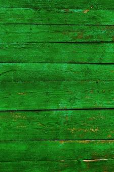 緑の木製の背景。色の国ブラジル。明るい木目テクスチャ。