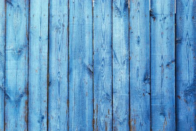 ナチュラルブルーの木の板