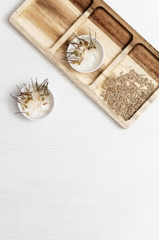 Прорастание семян пшеницы для употребления в пищу