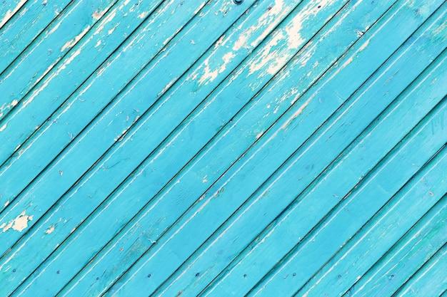 背景の古い木製の塗装面