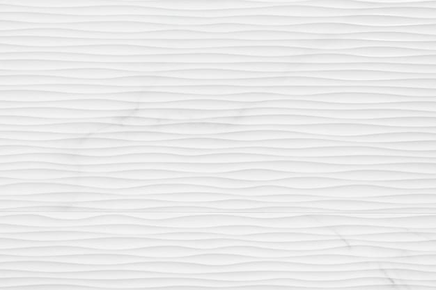 リネンの質感と白い抽象的な波背景