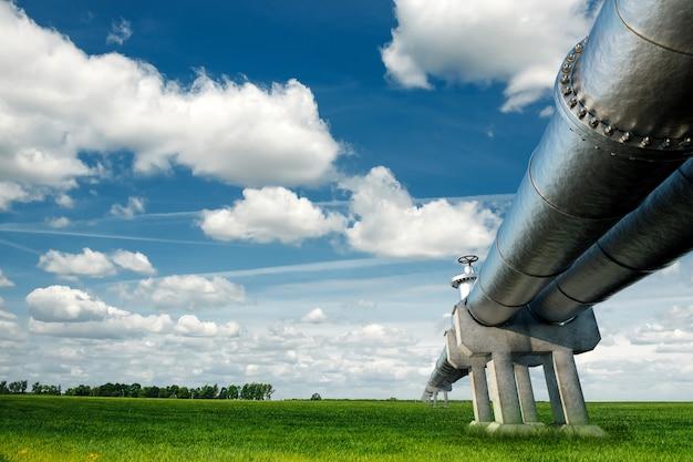 ガスと石油の工業用パイプ