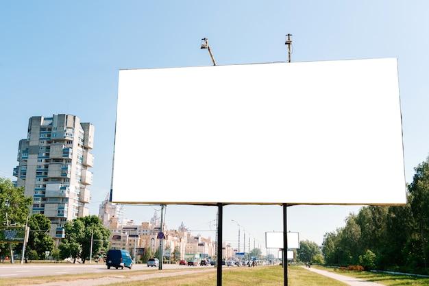 Рекламный щит, макет рекламного щита, макет