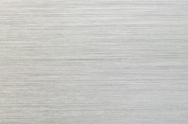 シルバーリブ編みの金属ハイテク灰色の背景
