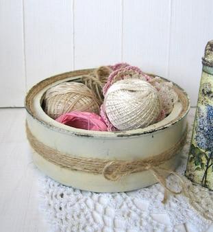かぎ針編みの糸