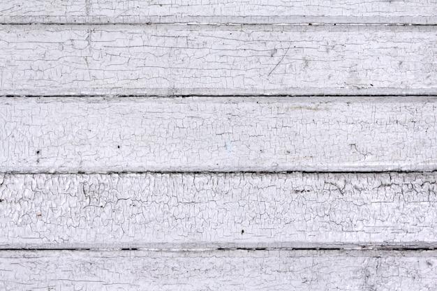 古い白い木の板
