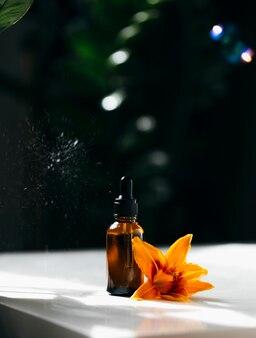 Бутылка масла для лица