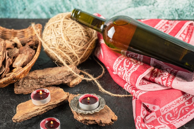 素朴でロマンチックなコンセプトのワイン1本
