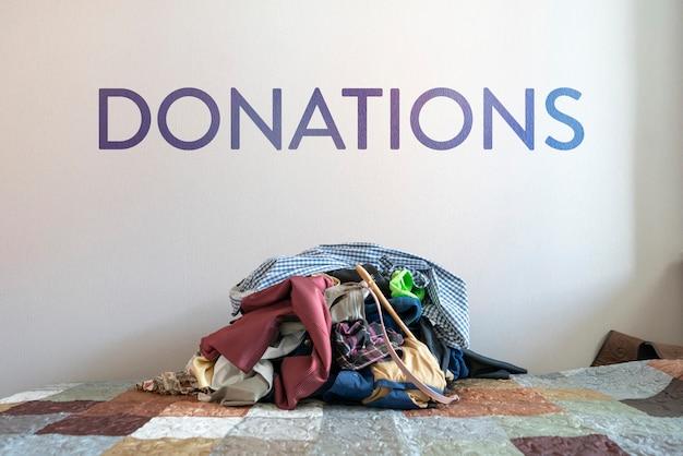 가난한 나라 어린이들에게 기부 할 옷