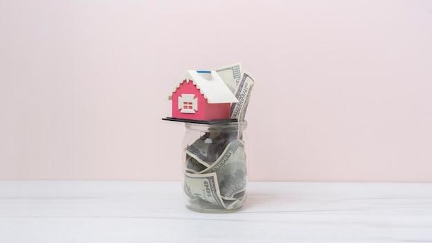 새 집을위한 현금 저축, 간단한 미니 컨셉 아이디어