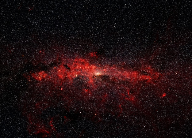 銀河の中心にある星の大釜