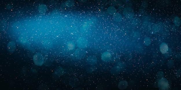 Рождественское ночное небо