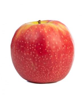 美しい赤いリンゴのクローズアップ