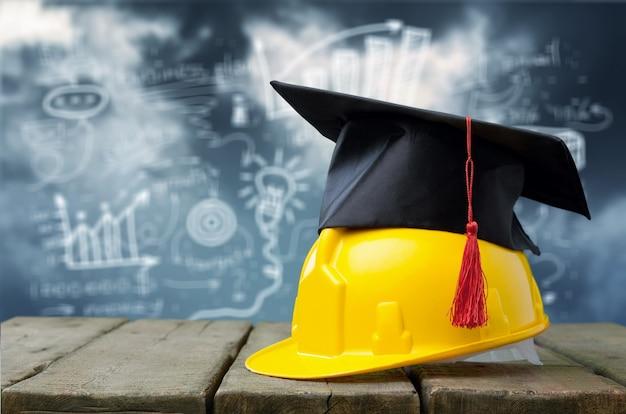 適切な教育を無事に修了することでスキルを身に付ける商人の概念。
