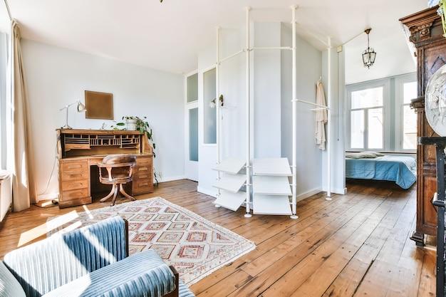 럭셔리 하우스의 아늑한 방