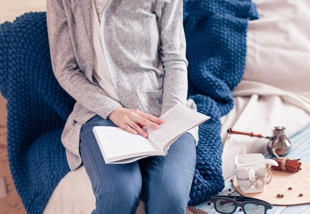 День отдыха с чтением книги в период изоляции