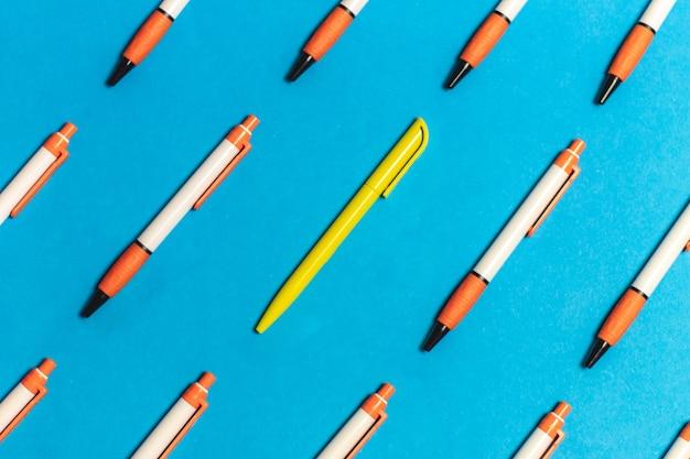 개체 그룹의 다른 펜