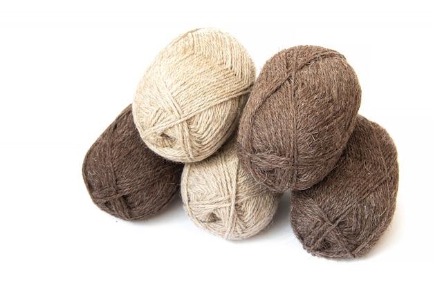 Группа шерстяной пряжи для вязания