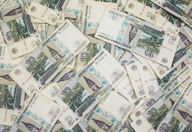 紙幣の背景がたくさん