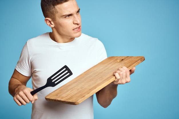 男は料理をしたい、男は初心者の料理人