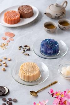 월병 푸딩은 중추절에 전통적으로 먹던 중국식 베이커리 제품입니다.